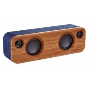 The House Of Marley Get Together Mini Mono portable speaker 24W Blau, Holz