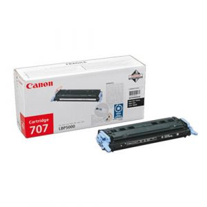 Canon 707 Black Toner Cartridge Original Noir 1 pièce(s)