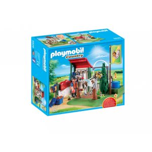 Playmobil Country Box de lavage pour chevaux