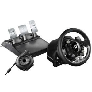 Thrustmaster T-GT Lenkrad + Pedale PC, PlayStation 4 Schwarz