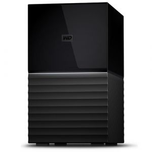 Western Digital My Book Duo Disk-Array 20 TB Desktop Schwarz