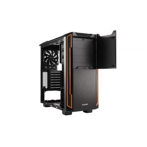 be quiet! Silent Base 600 Midi ATX Tower Orange, Noir