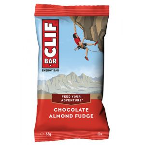 CLIF Bar Chocolate Almond Fudge 68g Avoine barre énergétique