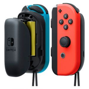 nintendo switch joy con aa battery pack pair r gler comparateur de prix. Black Bedroom Furniture Sets. Home Design Ideas