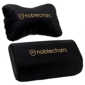 NOBLECHAIRS Epic/ Icon/ Hero - Kissen Set (Schwarz/Gold) (NBL-SP-PST-004)