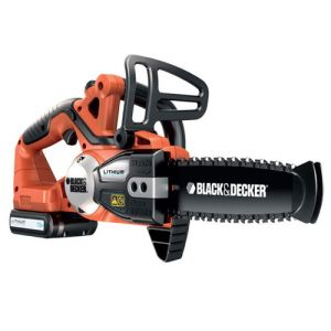 Black & Decker GKC1820L20 chainsaw Schwarz, Orange