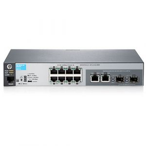 Aruba, a Hewlett Packard Enterprise company 2530-8G Managed L2 Gigabit Ethernet (10/100/1000) Grau 1U