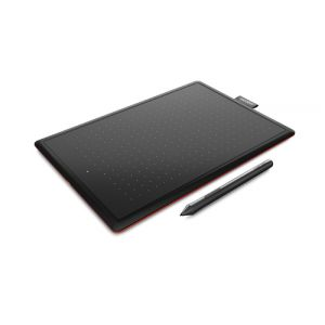 Wacom One by Small Grafiktablett 2540 lpi 152 x 95 mm USB Schwarz