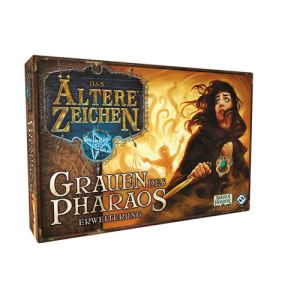 Fantasy Flight Games Elder Sign: Omens of the Pharaoh Jeu de rôles Adultes et enfants