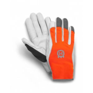 Husqvarna Classic Light Gants de jardin Gris, Orange Cuir