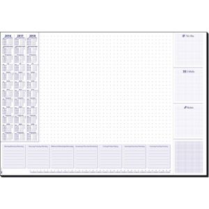 Sigel HO355 sous-mains Multicolore Papier