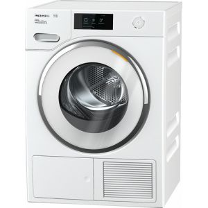 Miele TWR 800-60 CH Freestanding (placement) Frontlader Weiß 9 kg A+++