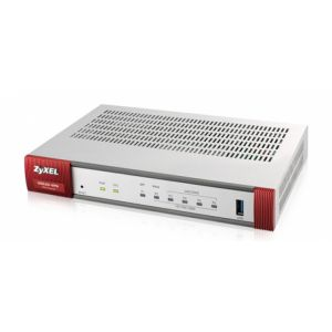 Zyxel ZyWALL USG20-VPN-EU0101F Routeur connecté Gigabit Ethernet Gris, Rouge