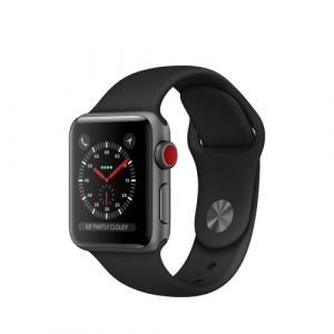 Apple Watch Series 3 montre intelligente Argent OLED Cellulaire GPS (satellite)