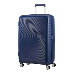 American Tourister Soundbox Spinner Blau Polypropylen (PP) 97 l