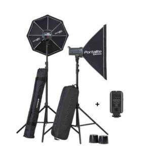 Elinchrom D-LITE RX 4/4 Softbox To Go Kit studio photo Noir