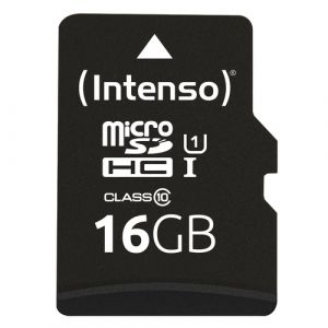 Intenso 16GB microSDHC mémoire flash 16 Go Classe 10 UHS-I