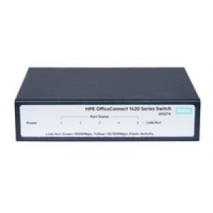 Hewlett Packard Enterprise OfficeConnect 1420 5G Unmanaged L2 Gigabit Ethernet (10/100/1000) Grau 1U