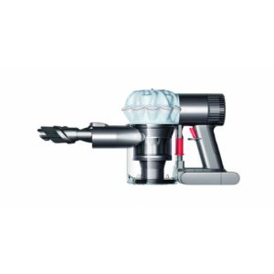 Dyson V6 Baby + Child Handstaubsauger Beutellos Nickel, Weiß