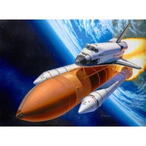 Revell Space Shuttle Discovery + Booster Rockets 1:144 Kit de montage Navette spatiale