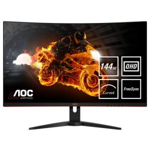 AOC Gaming CQ32G1 LED display 80 cm (31.5 Zoll) 2560 x 1440 Pixel Wide Quad HD LCD Gebogen Matt Schwarz