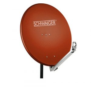 Schwaiger SPI710.2 antenne satellites Rouge