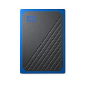 Western Digital My Passport Go 1000 GB Schwarz, Blau