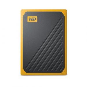 Western Digital My Passport Go 1000 Go Noir, Jaune