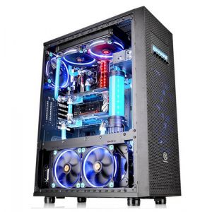 Thermaltake Core X71 TG Edition Full Tower Schwarz