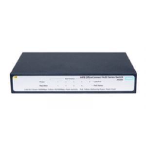 Hewlett Packard Enterprise OfficeConnect 1420 5G PoE+ (32W) Unmanaged L2 Gigabit Ethernet (10/100/1000) Grau 1U Power over Ethernet (PoE)