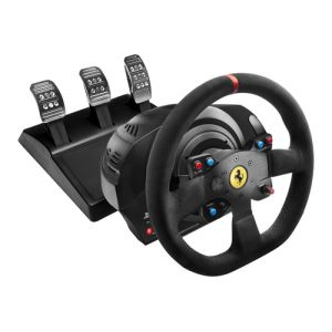 Thrustmaster T300 Ferrari Integral Racing Wheel Alcantara Edition Lenkrad + Pedale PC,PlayStation 4,Playstation 3 Schwarz