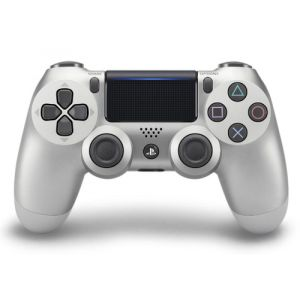Sony DualShock 4 Gamepad PlayStation 4 Silber