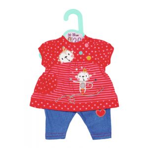 Dolly Moda Dress and Trousers 36cm Puppen-Kleiderset
