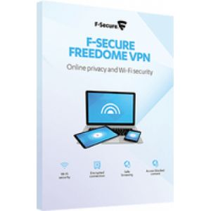 F-SECURE Freedome VPN 1 licence(s) Boîte Multilingue