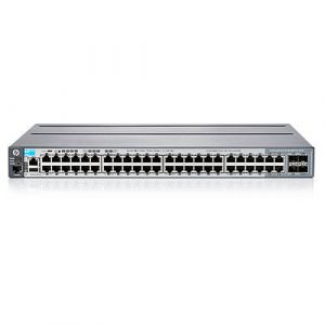 Aruba, a Hewlett Packard Enterprise company Aruba 2920 48G Managed L3 Gigabit Ethernet (10/100/1000) Grau 1U