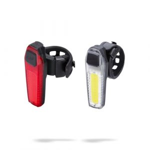 BBB Cycling SignalCombo BLS-83 Heckbeleuchtung + Frontbeleuchtung (Set) LED