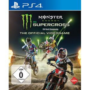 Bigben Interactive Monster Energy Supercross: The Official Videogame, PS4 Videospiel Standard PlayStation 4