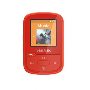 Sandisk SDMX28-016G-G46R MP3 16GB Rot MP3-/MP4-Player