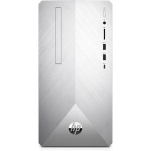 HP Pavilion 595-p0510ng 9th gen Intel® Core™ i7 i7-9700F 8 GB DDR4-SDRAM 1256 GB HDD+SSD Silber Mini Tower PC