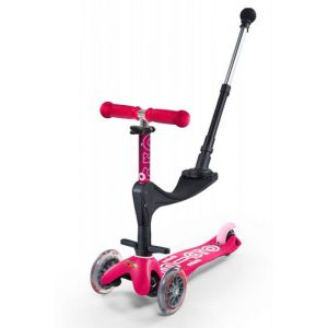 Micro Mobility Mini Micro 3in1 Deluxe Plus Kinder Dreiradroller Pink
