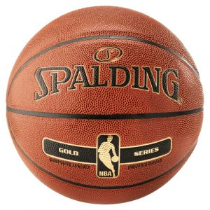 Spalding NBA Gold Orange Indoor,Outdoor