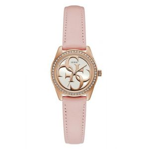 GUESS W1212L1 Uhr Wrist watch Quarz Weiblich Gold, Pink