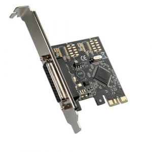 ROLINE PCI-Express Adapter, 1x Parallel ECP/EPP Schnittstellenkarte/Adapter