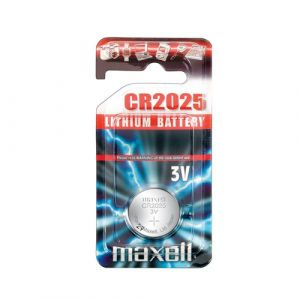 Maxell CR2025 pile non-rechargeable Lithium 3 V