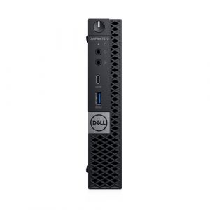 DELL OptiPlex 7070 Intel® Core™ i5 de 9e génération i5-9500T 16 Go DDR4-SDRAM 256 Go SSD MFF Noir Mini PC Windows 10 Pro