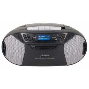 Denver TDC-250 CD-Player Tragbarer CD-Player Schwarz, Silber