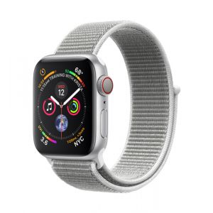 Apple Watch Series 4 Smartwatch Silber OLED Handy GPS