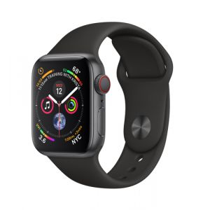 Apple Watch Series 4 montre intelligente Gris OLED Cellulaire GPS (satellite)