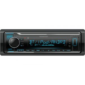 Kenwood Electronics KMM-BT304 Bluetooth Schwarz Auto Media-Receiver