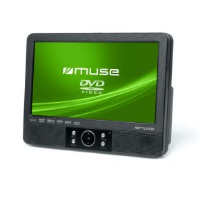 "Muse M-920 CVB Portable DVD player Mural Noir 22,9 cm (9"")"